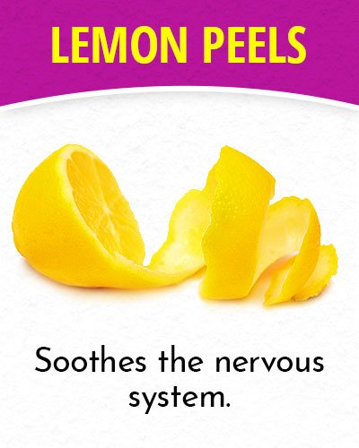 Lemon Peels for Migraines