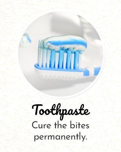 Toothpaste for Shoe Bite