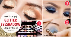 How-to-apply-glitter-eye-shadow-perfectly