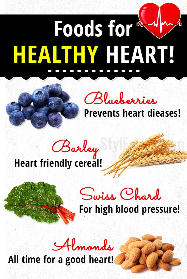 10 foods for healthy heart