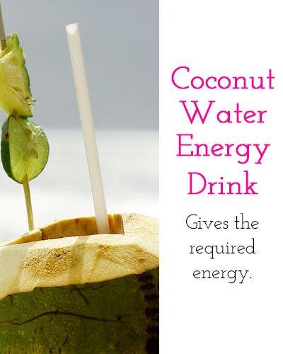 Coconut Water Energy Drink
