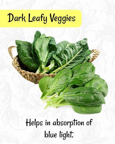 Dark Leafy Veggiesfor Healthy Eyes