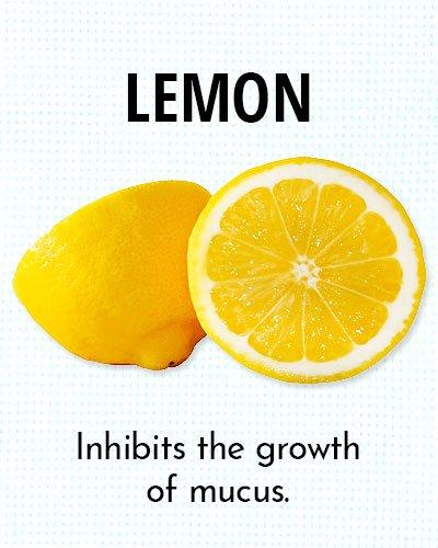 Lemon for Chest Congestion