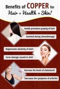 Copper Health Benefits
