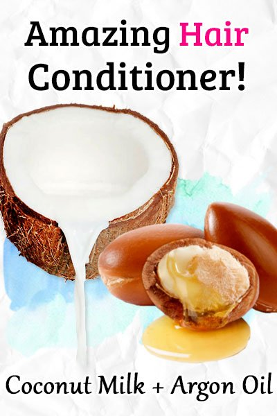 Conditioner with Coconut Milk and Argan Oil