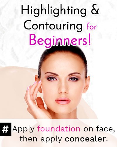 How To Apply Foundation & Concealer