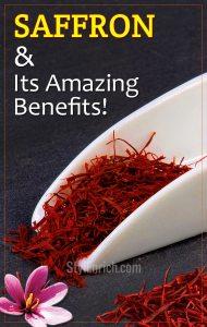 Amazing saffron benefits