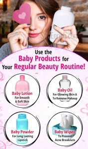 How to Use The Baby Products for Beauty