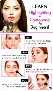 Highlighting & contouring for beginners