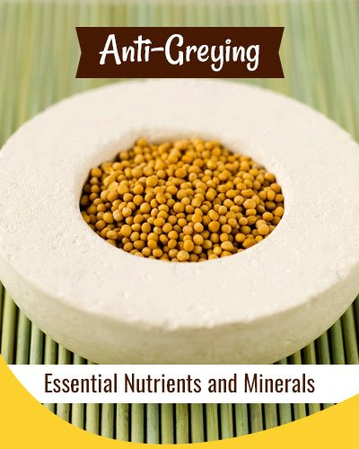 Anti Greying Mustard Hair Mask