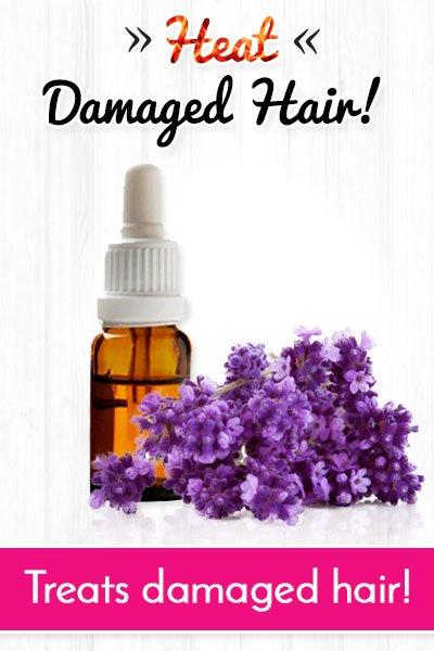 Botanical Oils to Repair Heat Damaged Hair