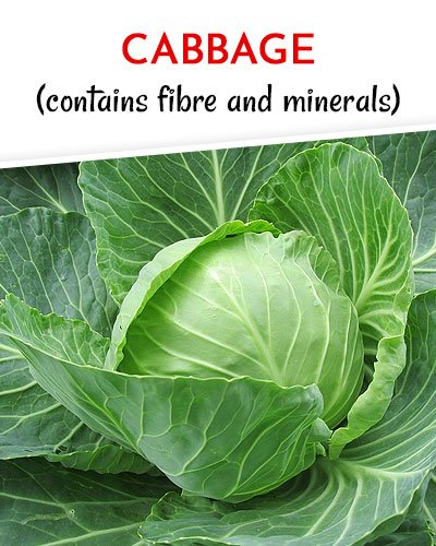 Cabbage to Get Rid of Varicose Veins