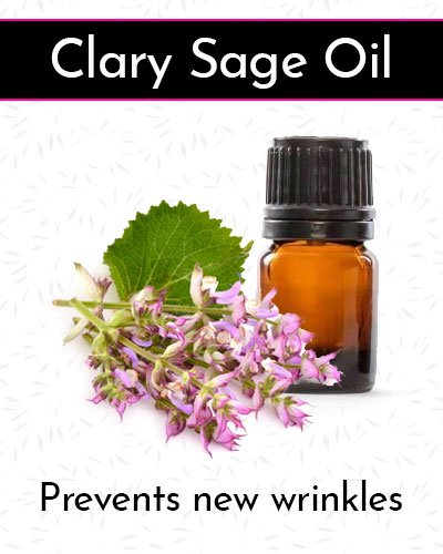Clary Sage Oil for Face Wrinkles