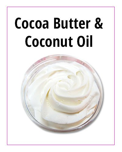 Cocoa Butter and Coconut Oil Face Moisturizer