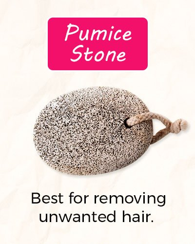 How To Get Rid of Facial Hair Using Pumice Stone?