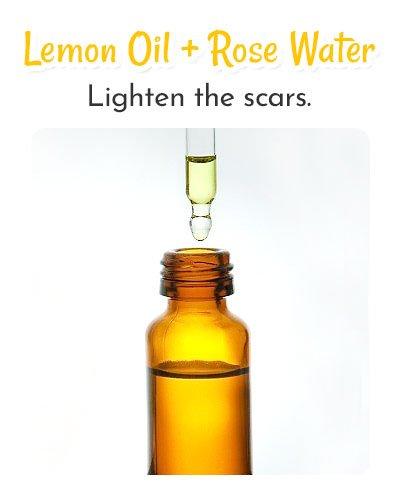 Lemon Oil and Rose Water