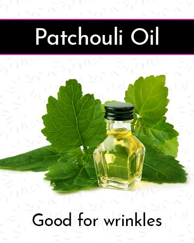 Patchouli Oil for Face Wrinkles