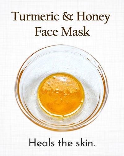 Turmeric and Honey Face Mask