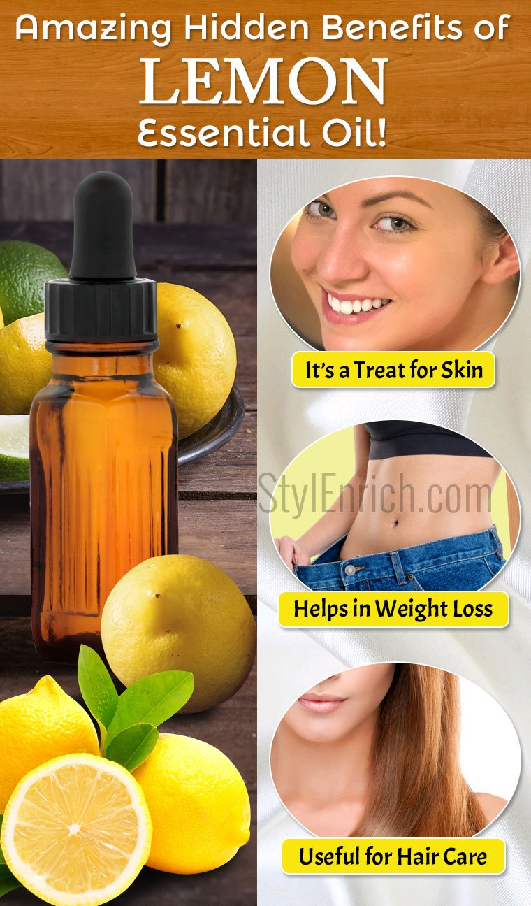 Benefits of Lemon essential oil