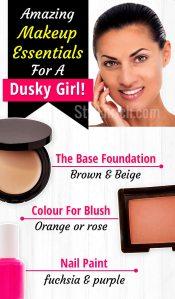 Makeup essentials for dusky girls