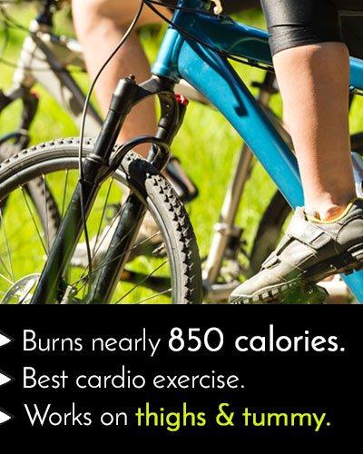 Cycling to Burn Calories