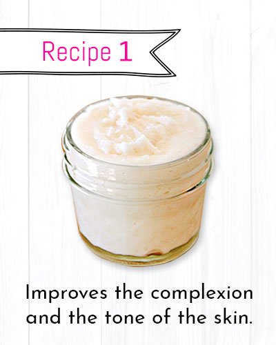DIY Wrinkle Cream Recipe for improved Complexion