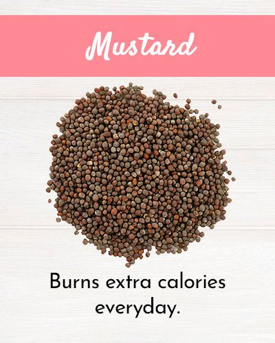 Mustard For Burning Fat