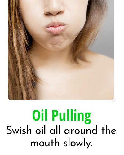 Oil Pulling for Toothache