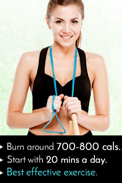 Skipping Ropes to Burn Calories