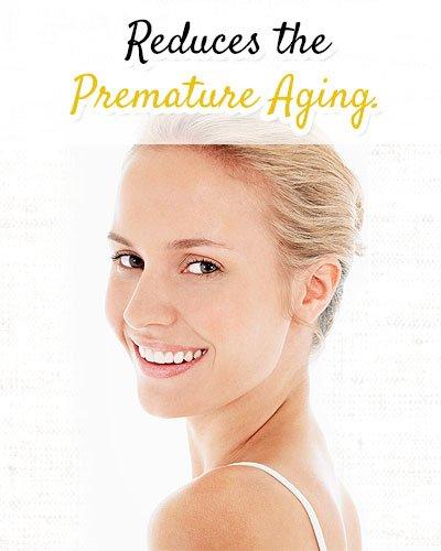 Yogurt Reduces the Premature Aging