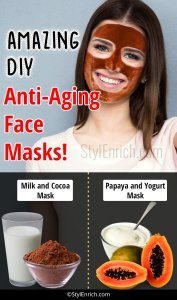 DIY Anti Aging Face Masks