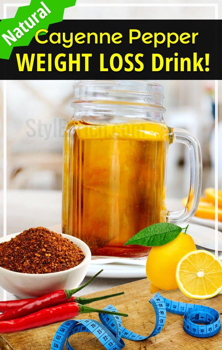 Cayenne Pepper Weight Loss Drink