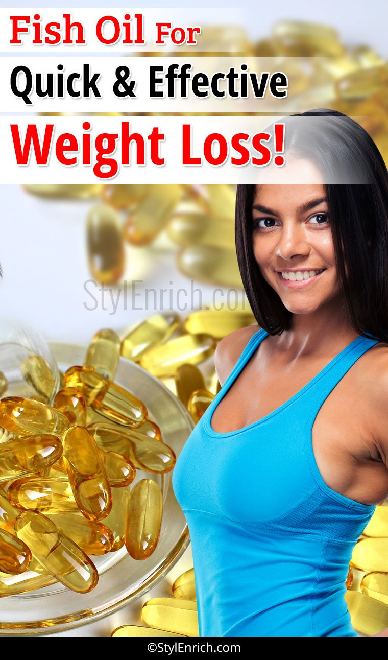 Fish Oil for Weight Loss