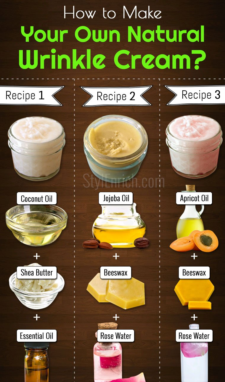 DIY Wrinkle Cream Recipes