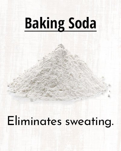 How To Stop Sweating In Summer Using Baking Soda?