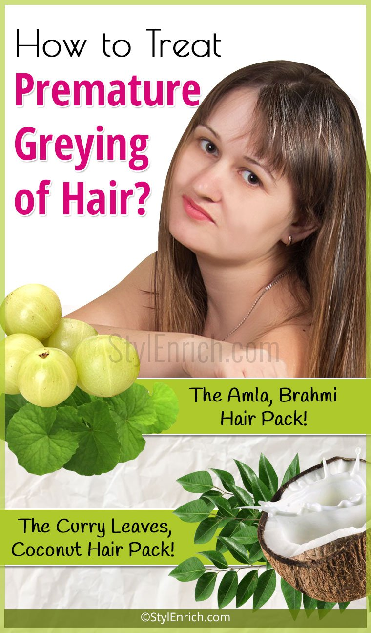 Home Remedies For Grey Hair To Prevent Premature Greying