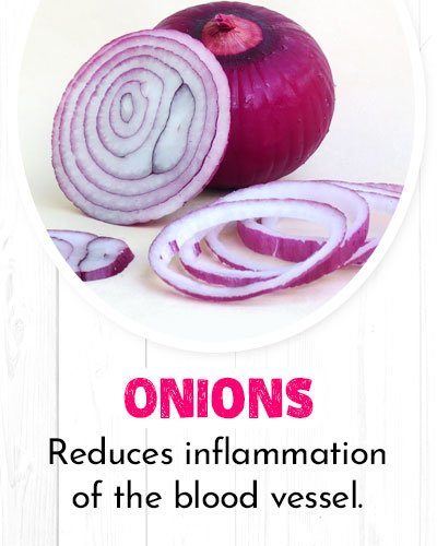 Onions For Healthy Heart