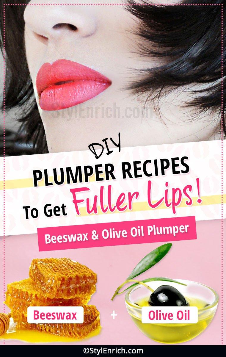 DIY Natural Lip Plumper Recipes