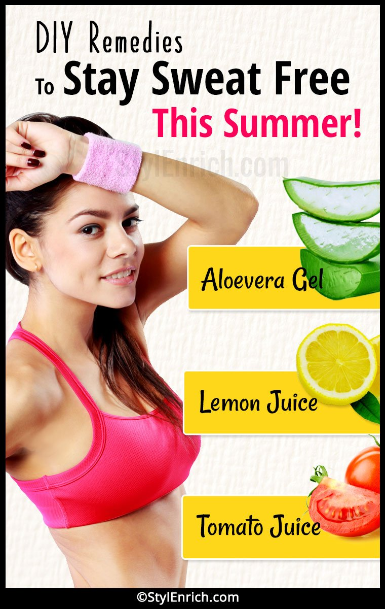 How To Stop Sweating In Summer?