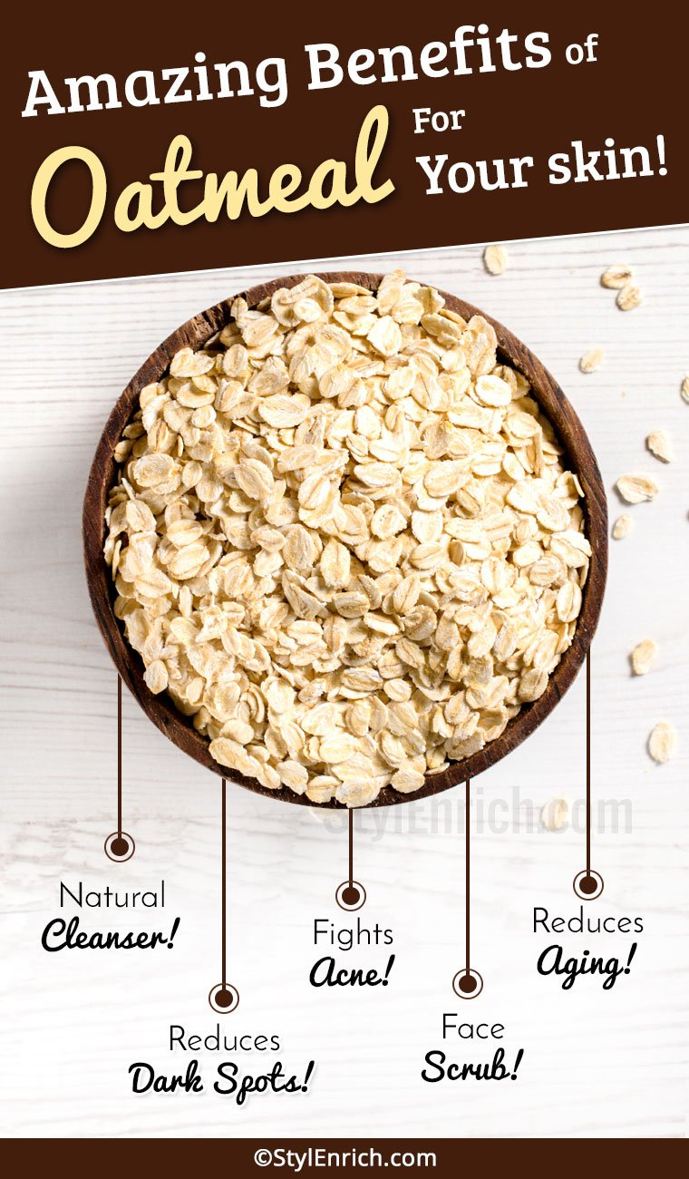 Oatmeal Benefits For Skin : How It Can Help In Your Skin ...