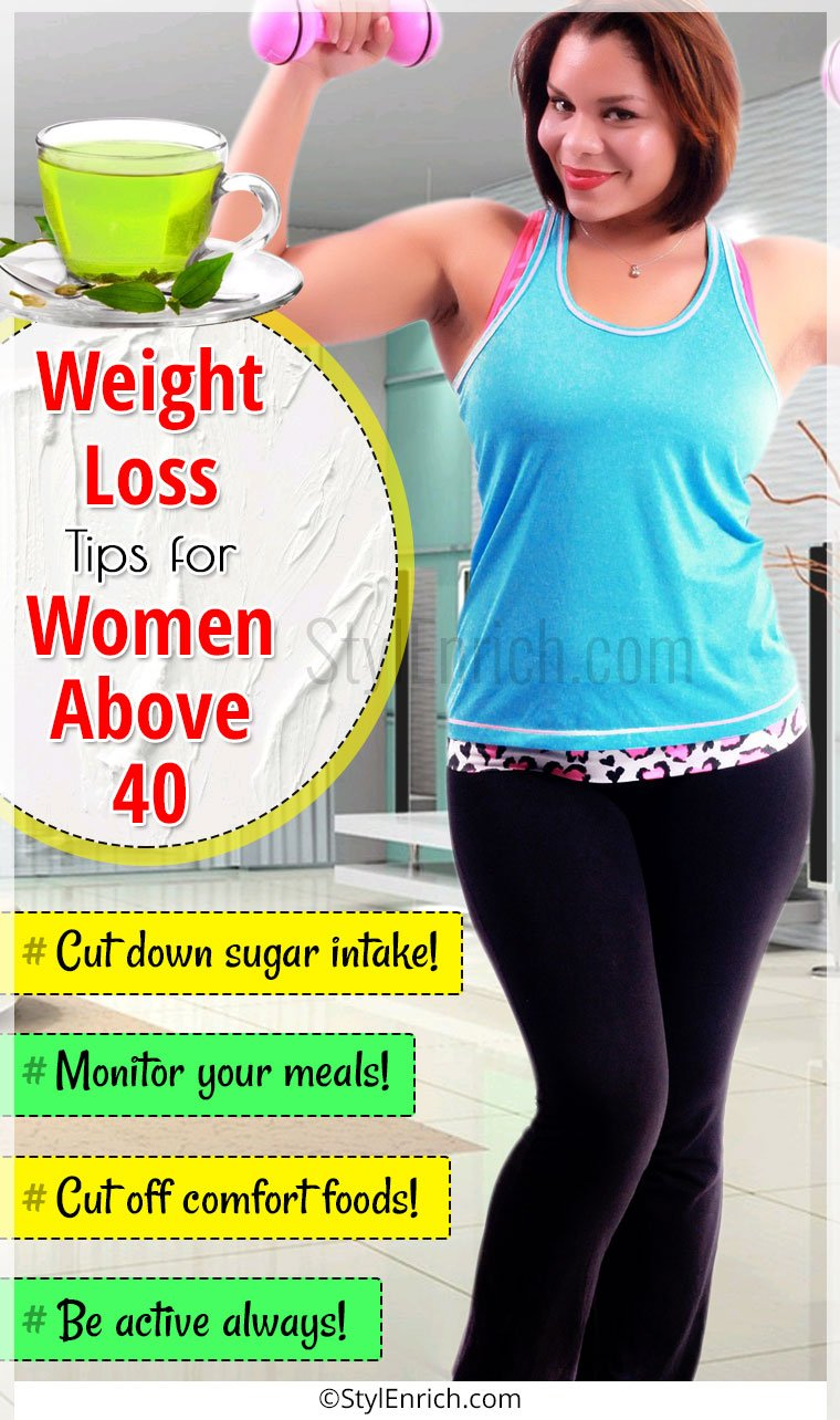 weight loss tips for women over 40 stylenrich