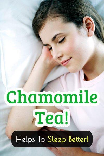 Chamomile Tea for Better Sleep