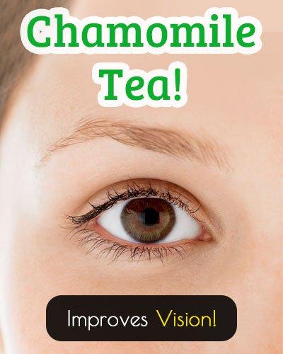 Chamomile Tea for Better Vision