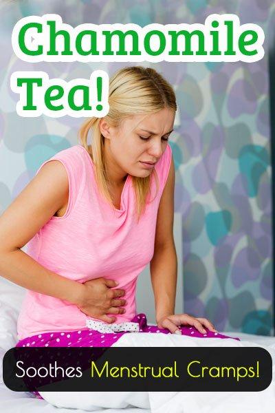 Chamomile Tea For Menstrual Cramps