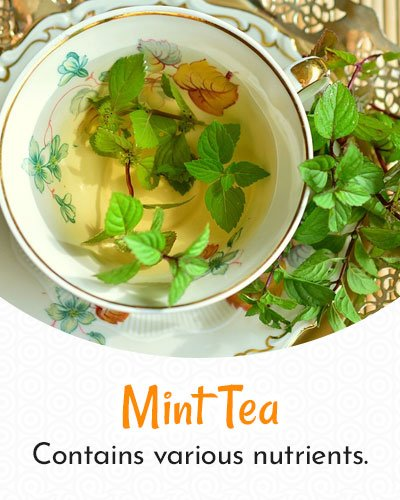 Mint Tea For Weight Loss