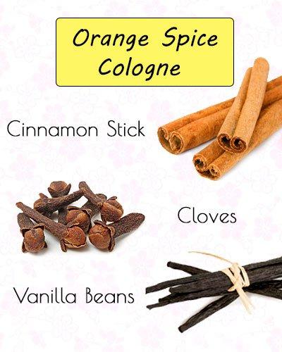 Orange Spice CologneDIY Perfume Recipe