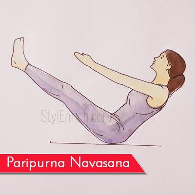Paripurna Navasana to Get Rid Of Belly Fat