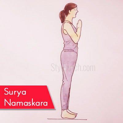 Surya Namaskara to Get Rid Of Belly Fat