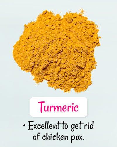Turmeric For Chickenpox