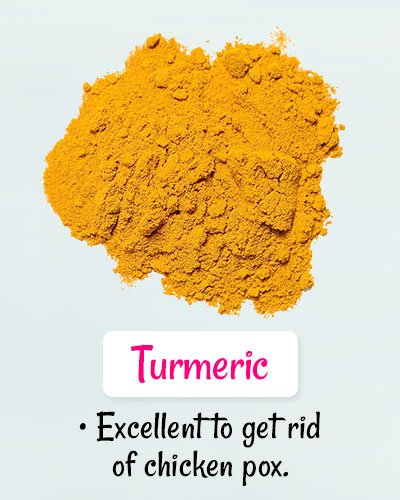 Turmeric For Chickenpox